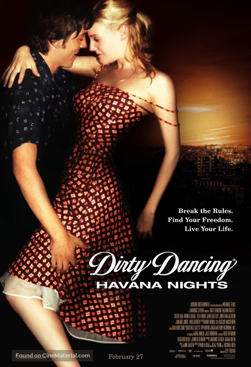 Dirty Dancing: Havana Nights - Movie Poster