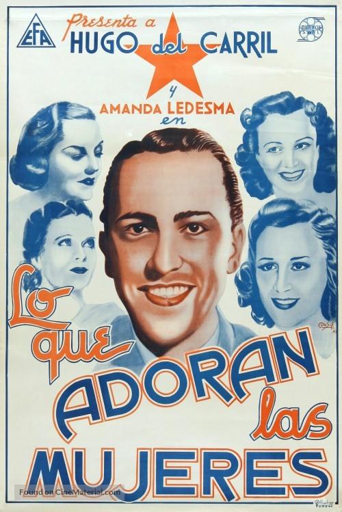 El astro del tango - Mexican Movie Poster