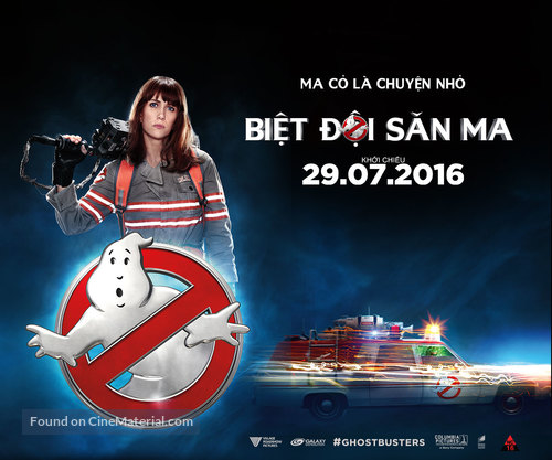 Ghostbusters - Vietnamese poster