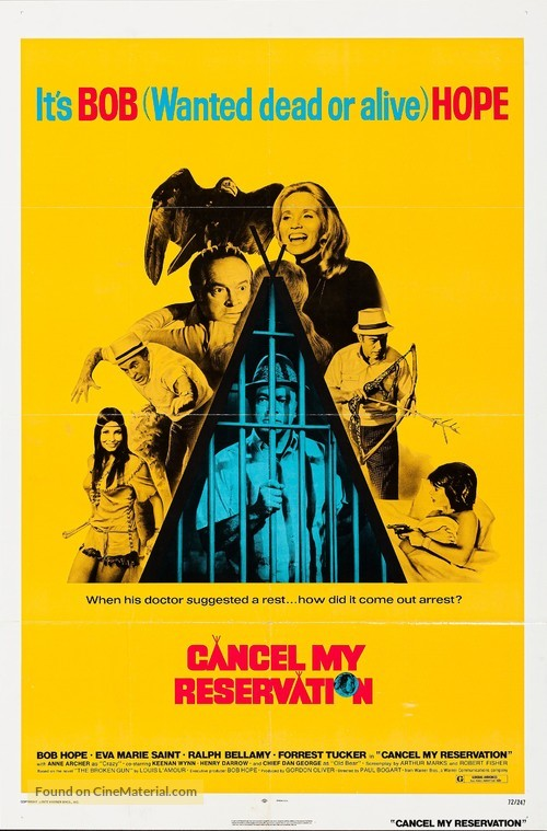 Cancel My Reservation - Movie Poster