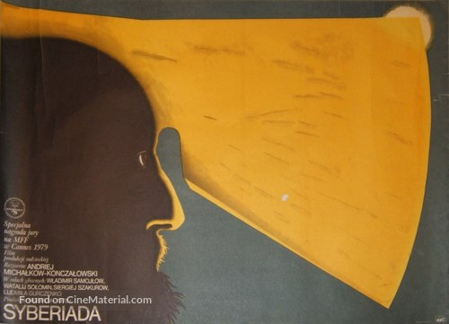 Sibiriada - Polish Movie Poster