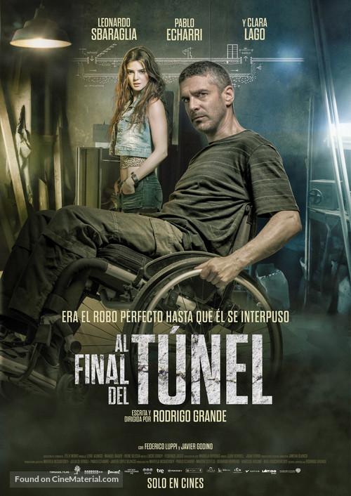 Al final del túnel - Spanish Movie Poster