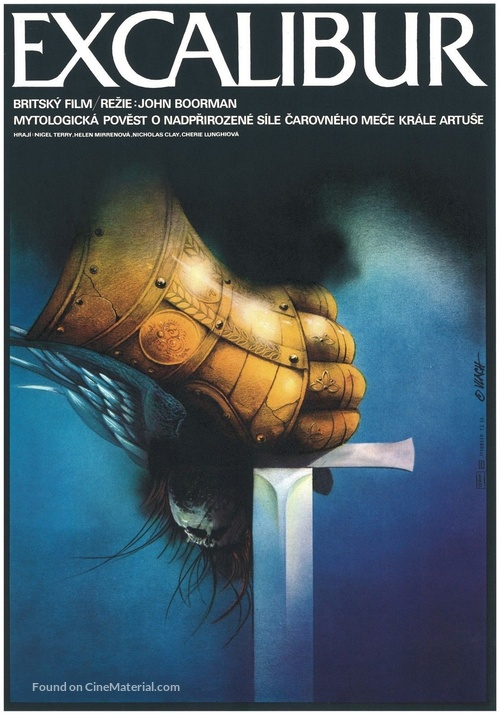 Excalibur - Czech Movie Poster