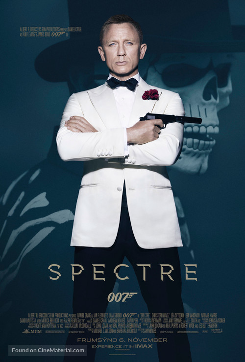 Spectre - Icelandic Movie Poster