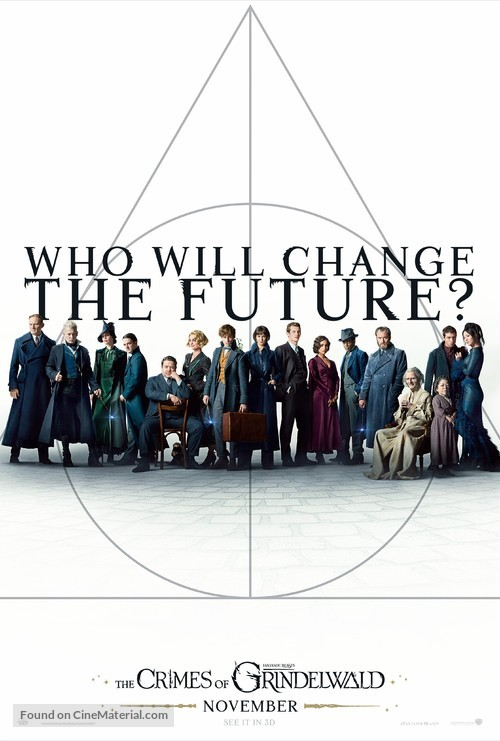 Fantastic Beasts: The Crimes of Grindelwald - British Movie Poster