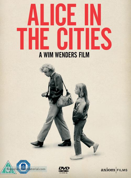 Alice in den Städten - DVD movie cover