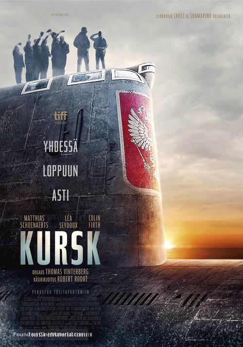 Kursk - Finnish Movie Poster