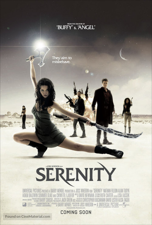 Serenity - British Movie Poster