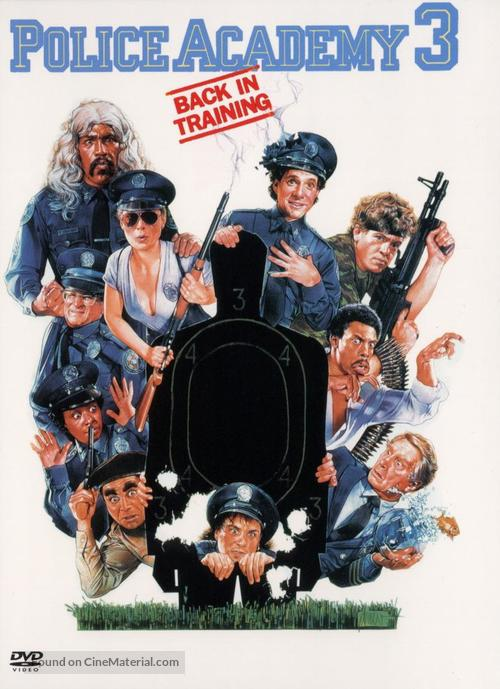 Police Academy 3: Back in Training - DVD cover
