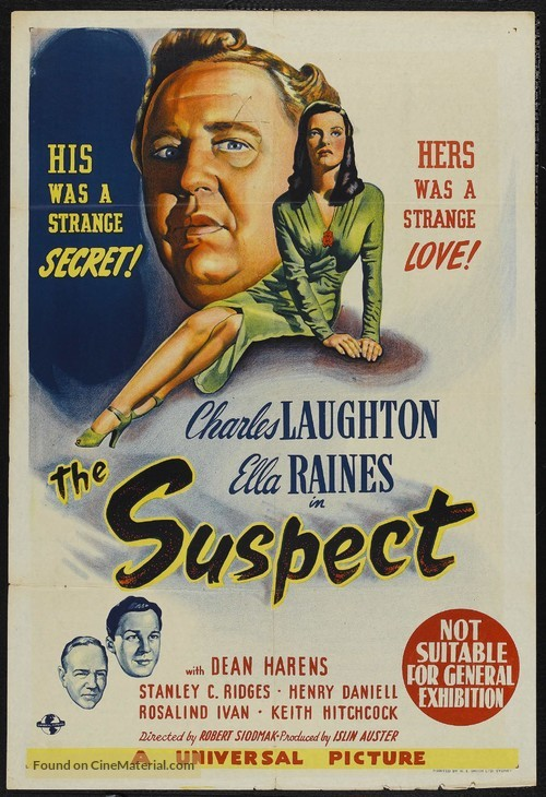 The Suspect - Australian Movie Poster