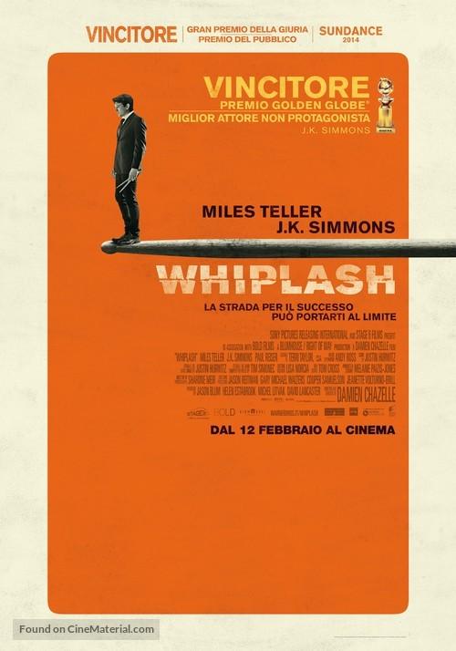 Whiplash - Italian Movie Poster