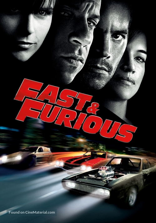 Fast & Furious - British Movie Poster