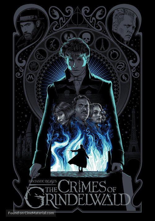 Fantastic Beasts: The Crimes of Grindelwald - Indonesian Movie Poster