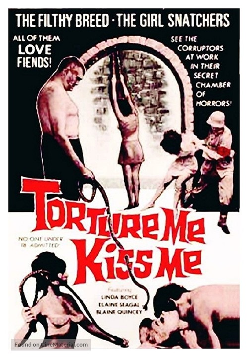 Torture Me, Kiss Me - Movie Poster