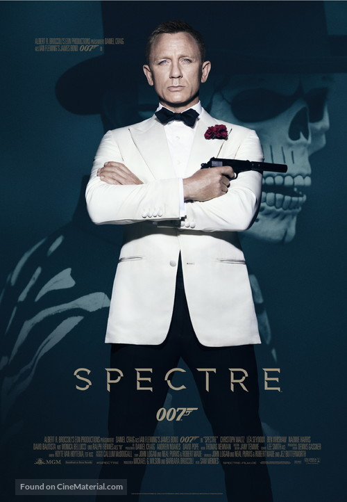 Spectre - German Movie Poster