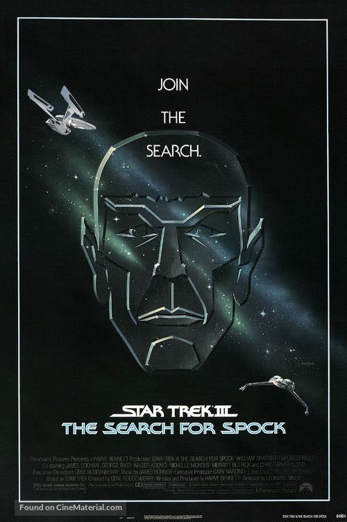 Star Trek: The Search For Spock - Movie Poster