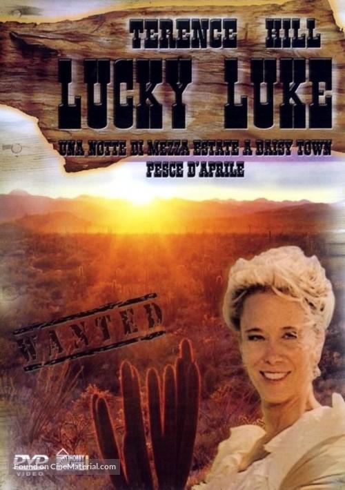 """""""Lucky Luke"""" - Italian DVD cover"""