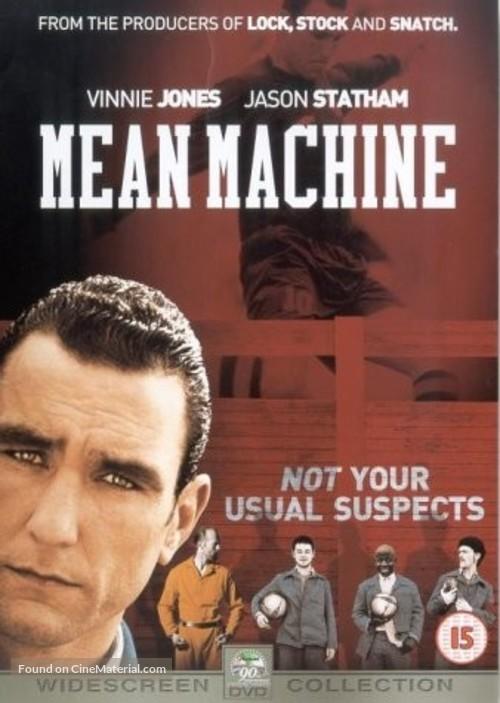 Mean Machine - British DVD movie cover