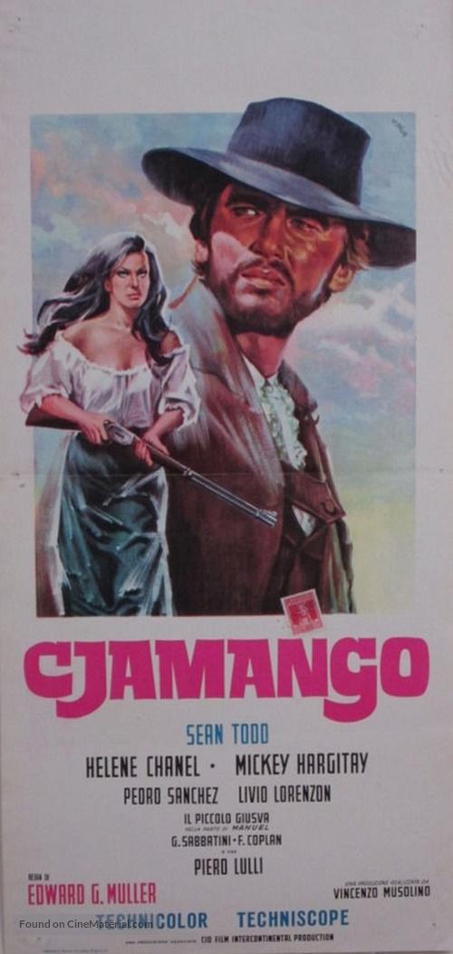 Cjamango - Italian Movie Poster