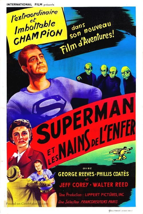 Superman and the Mole Men - French Movie Poster