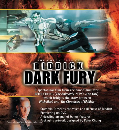 The Chronicles of Riddick: Dark Fury - Movie Poster