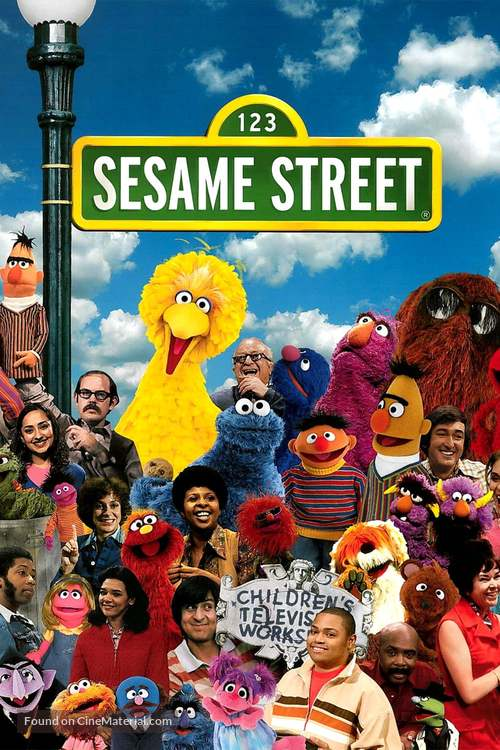 """Sesame Street"" - Movie Cover"