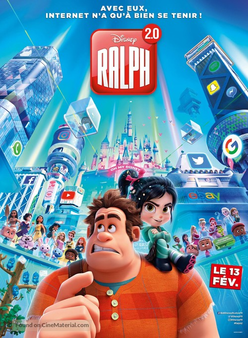 Ralph Breaks the Internet - French Movie Poster