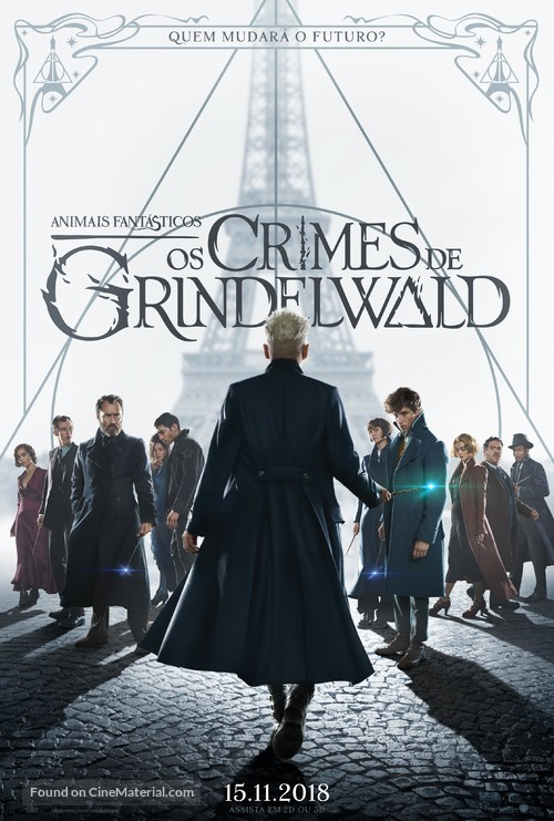 Fantastic Beasts: The Crimes of Grindelwald - Brazilian Movie Poster