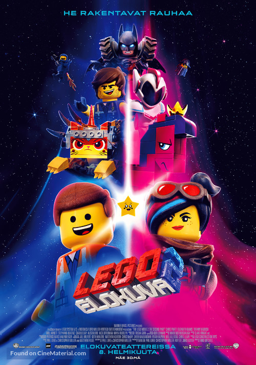 The Lego Movie 2: The Second Part - Finnish Movie Poster