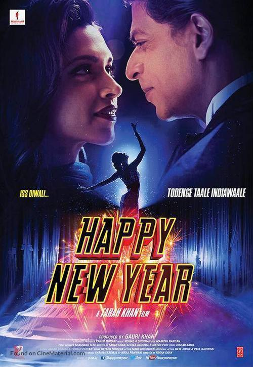 Happy New Year Movie Poster 14