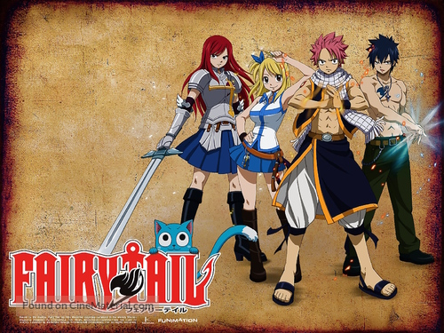 """Fairy Tail"" - Japanese Movie Poster"