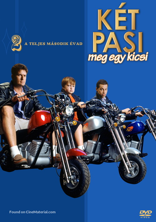 """""""Two and a Half Men"""" - Hungarian DVD movie cover"""