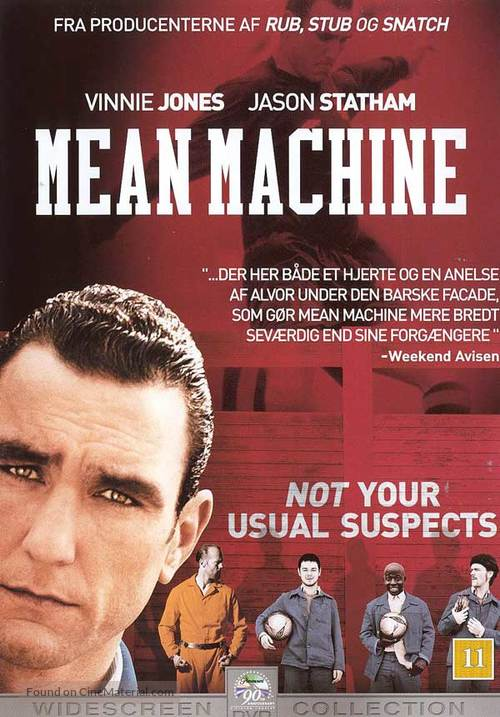 Mean Machine - Danish DVD cover