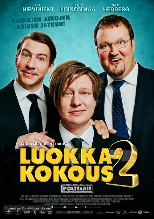 Luokkakokous 2 - Finnish Movie Poster