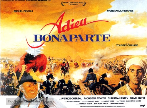 Adieu Bonaparte - French Movie Poster