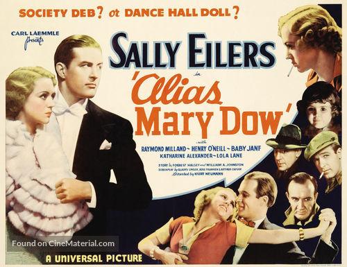 Alias Mary Dow - Movie Poster
