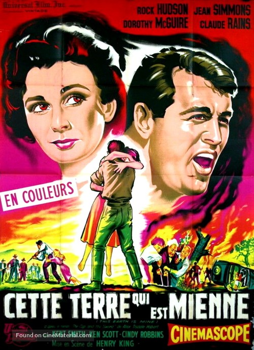 This Earth Is Mine - French Movie Poster