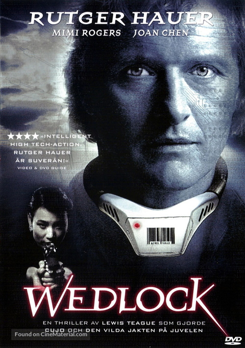 Wedlock - Swedish DVD cover