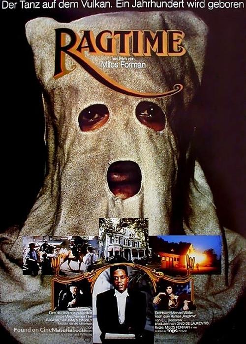 Ragtime - German Movie Poster