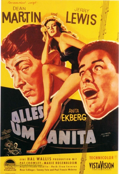 Hollywood or Bust - German Movie Poster
