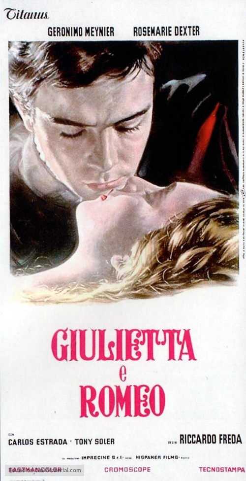 Romeo e Giulietta - Italian Movie Poster