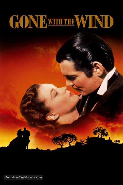 Gone with the Wind - Never printed movie poster