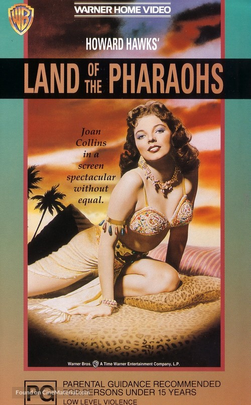 Land of the Pharaohs - Australian Movie Cover