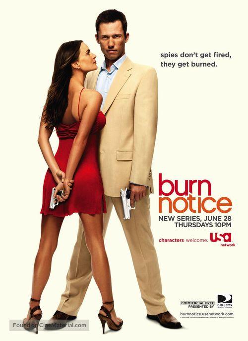 """Burn Notice"" - Movie Poster"