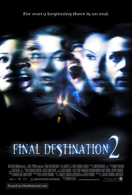 Final Destination 2 - Movie Poster
