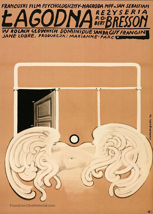 Une femme douce - Polish Movie Poster