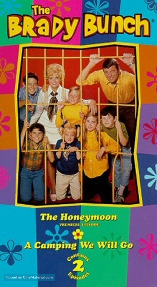 """""""The Brady Bunch"""" - VHS cover"""