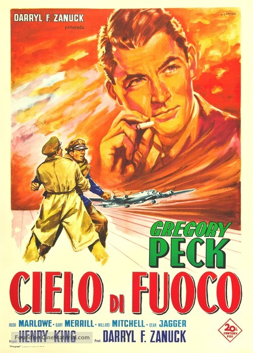 Twelve O'Clock High - Italian Movie Poster