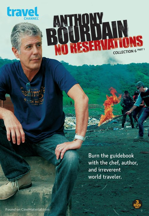 """""""Anthony Bourdain: No Reservations"""" - DVD movie cover"""