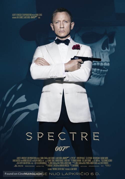 Spectre - Lithuanian Movie Poster